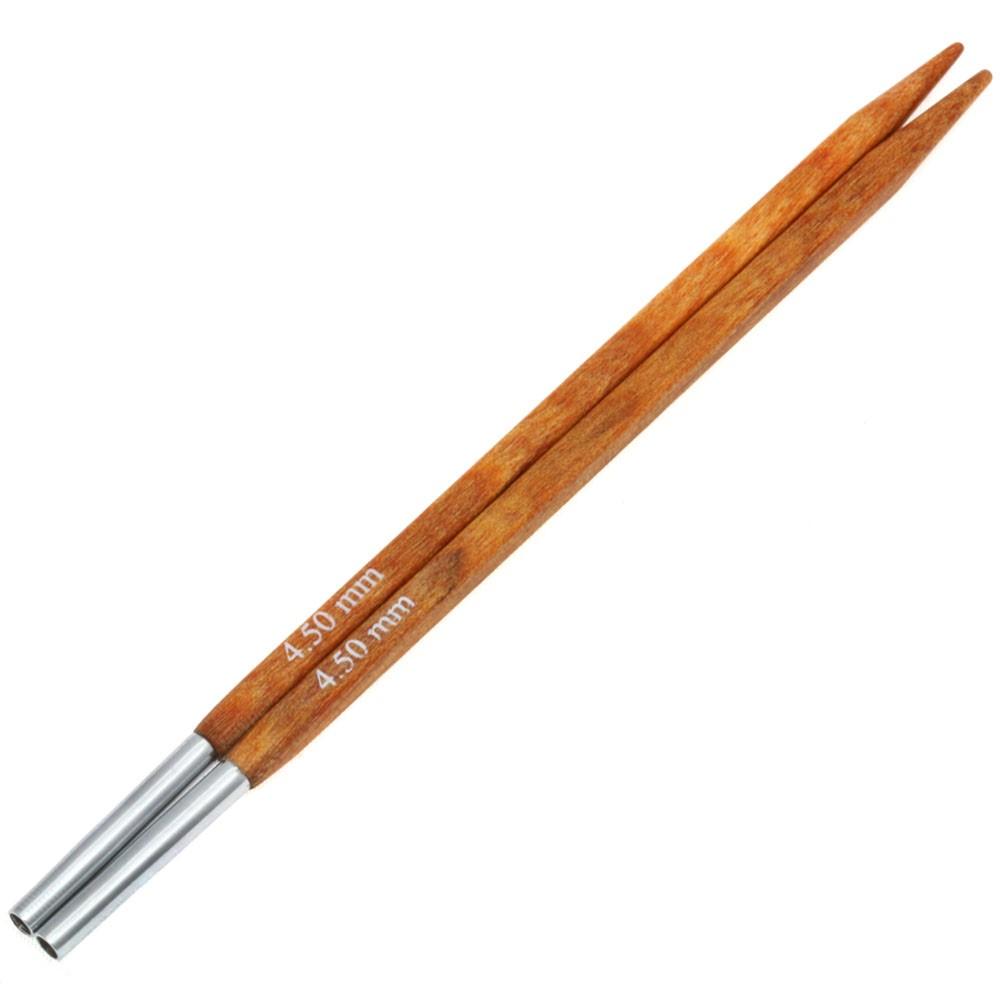 Lana Grossa Кончики иглы Vario Design-wood дерево Quattro № 4,5