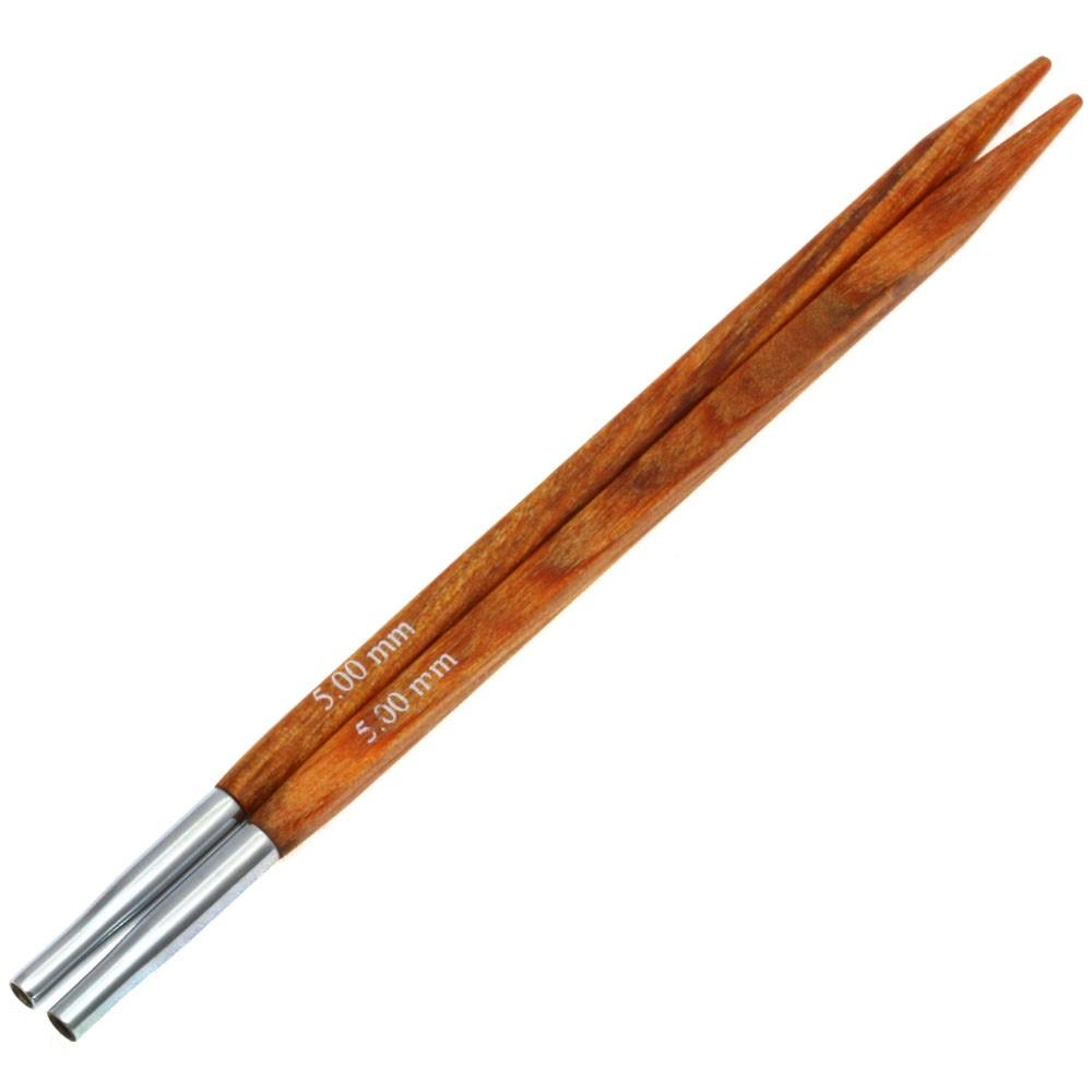 Lana Grossa Кончики иглы Vario Design-wood дерево Quattro № 5