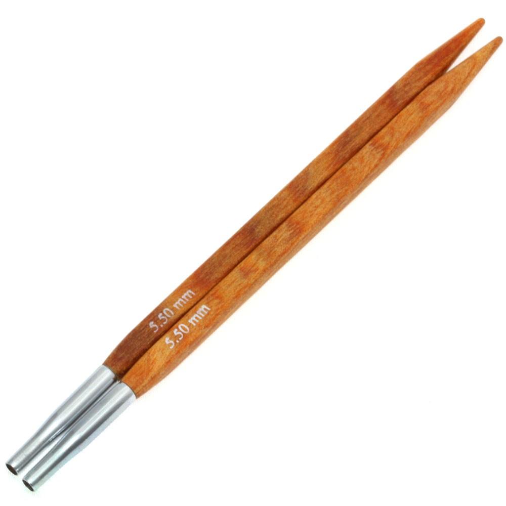 Lana Grossa Кончики иглы Vario Design-wood дерево Quattro № 5,5