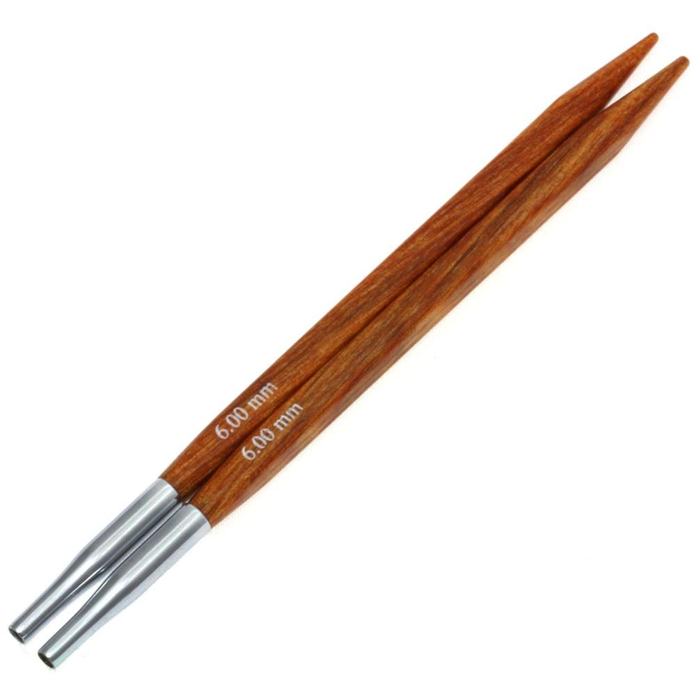 Lana Grossa Кончики иглы Vario Design-wood дерево Quattro № 6