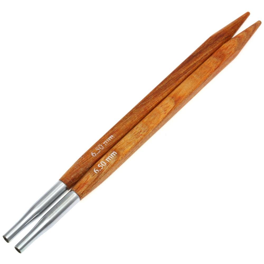 Lana Grossa Кончики иглы Vario Design-wood дерево Quattro № 6,5