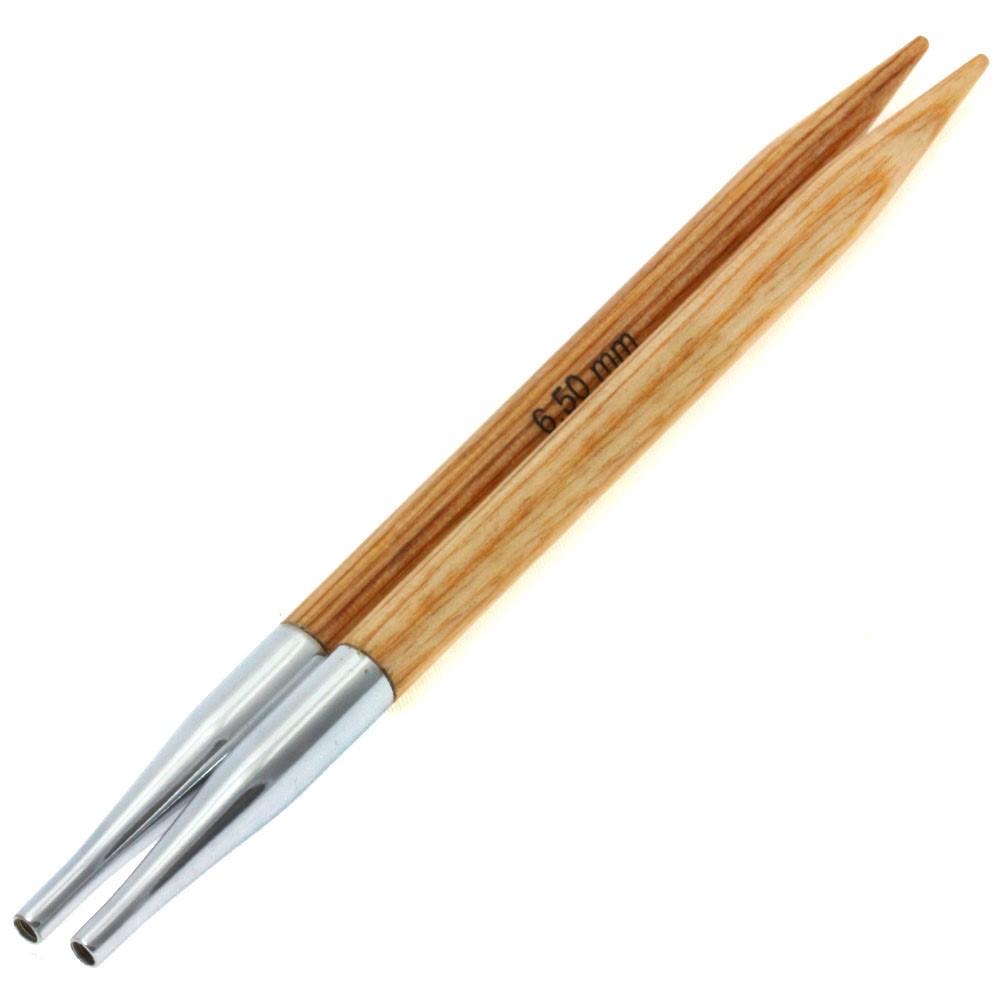 Lana Grossa Кончики иглы Vario Design-wood дерево №  6,5