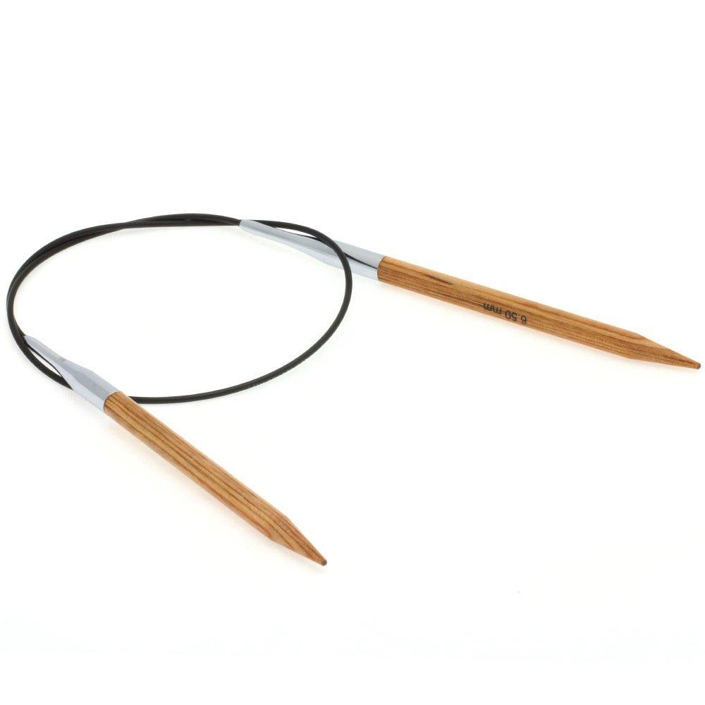 Lana Grossa Круговые спицы Design-wood, дерево №  6,5/60см